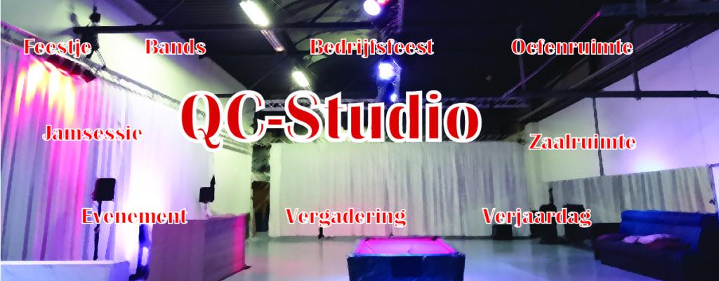 QC-Studio zaalverhuur en studio's